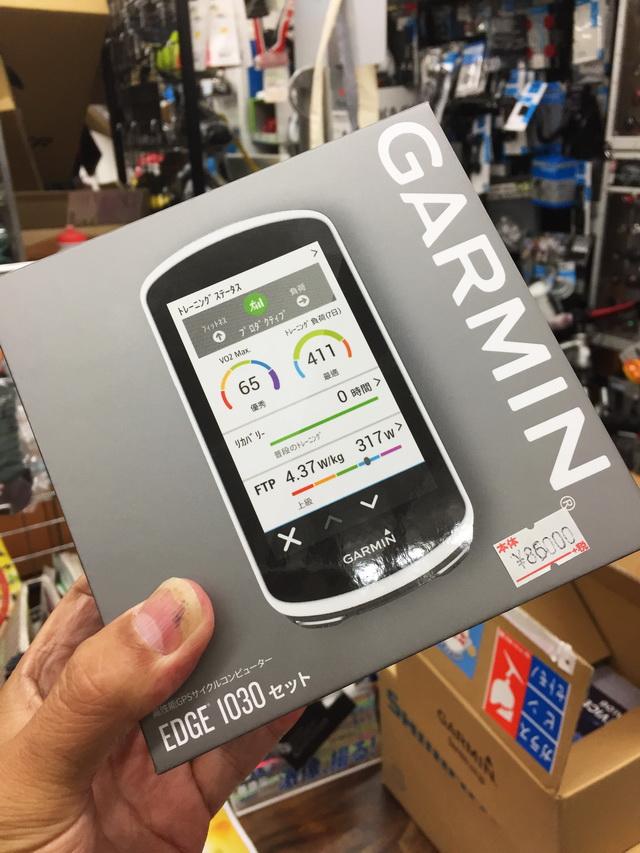 fb20851337 GARMIN GPSサイコン Edge1030 は待ってた甲斐があった: 使ったもののこと ...